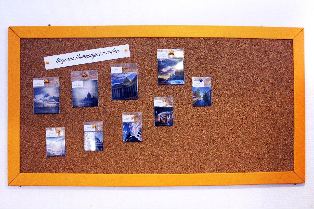 Пробковая доска на стену Corky Boards