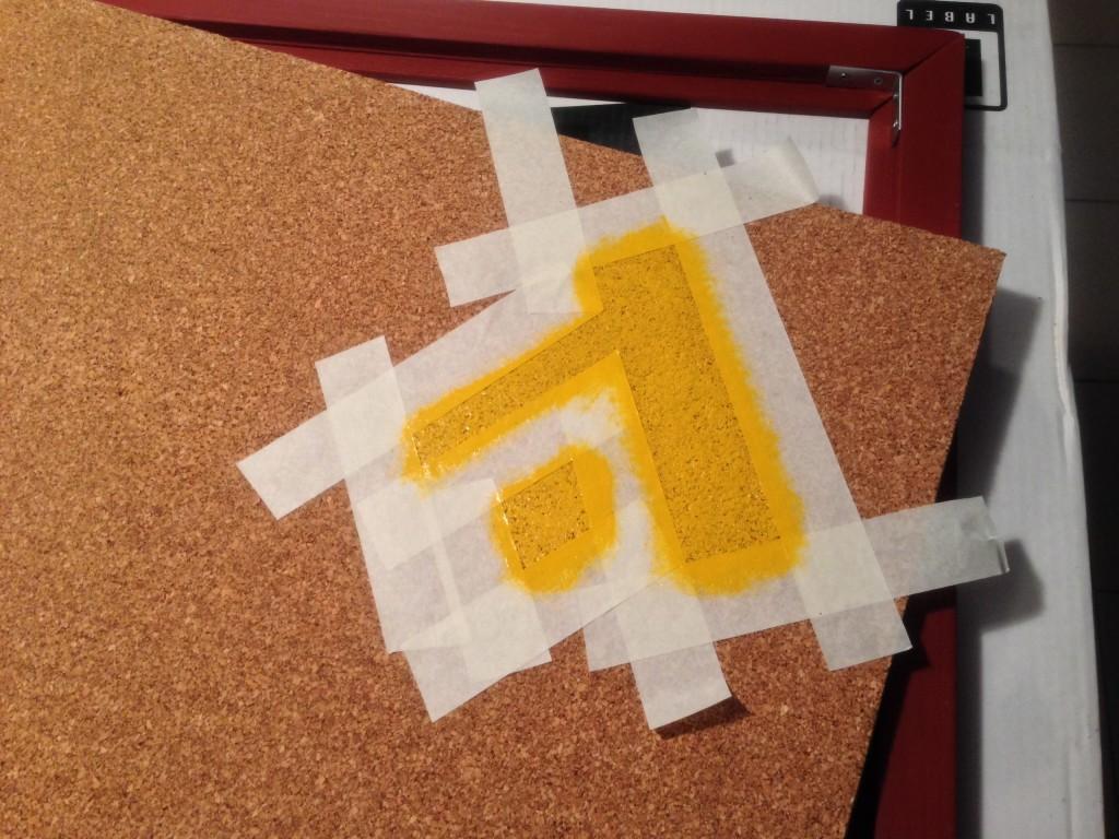 Пробовая доска с логотипом Адвекс от Corky Boards